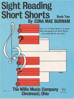 Sight Reading Short Shorts Book 2 Books | Piano