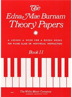 Burnham Theory Papers Book 2 Books | Piano
