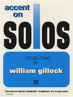 William Gillock: Accent On Solos - Level Two Books | Piano
