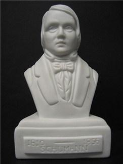 Composer Bust: Schumann (Porcelain)  |