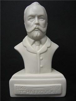 Composer Bust: Tchaikovsky (Porcelain)  |
