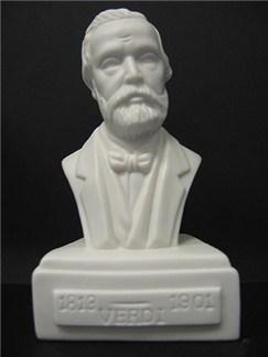 Composer Bust: Verdi (Porcelain)  |