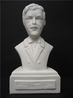 Composer Bust: Debussy (Porcelain)  |