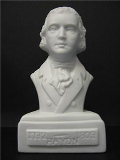 Composer Bust: Haydn (Porcelain)   