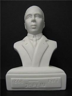 Composer Bust: Joplin (Porcelain)  |