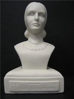 Composer Bust: Clara Schumann (Porcelain)  |