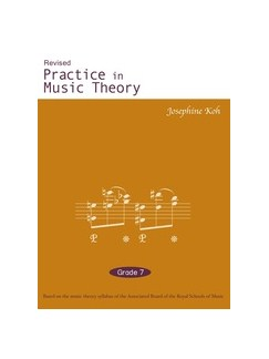 Josephone Khoh: Practice In Music Theory Grade 7 Books | All Instruments