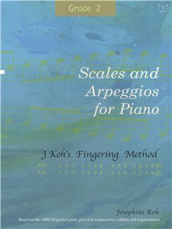 Josephine Koh: Scales And Arpeggios For Piano - Fingering Method (Grade 2) Books | Piano