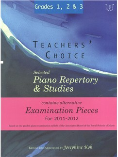 Teachers' Choice: Selected Piano Repertory & Studies 2011-2012 (Grades 1, 2 & 3) Books | Piano
