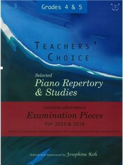Josephine Koh: Teachers' Choice Piano Repertory 2015-2016 Grades 4-5 Books | Piano