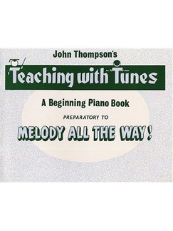 Melody All The Way Preparatory Book Books | Piano