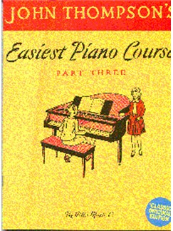 Easiest Piano Course Classic Edition Part 3 Books | Piano