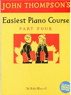 Easiest Piano Course Classic Edition Part 4 Books | Piano