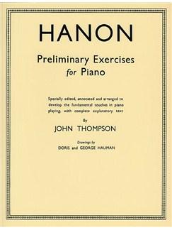 Hanon Preliminary Studies Books | Piano