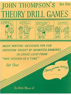 Theory Drill Games - Set One Books | Piano