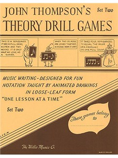 Theory Drill Games - Set Two Books | Piano