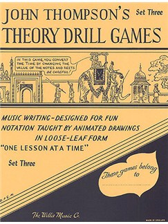 Theory Drill Games Set Three Books |