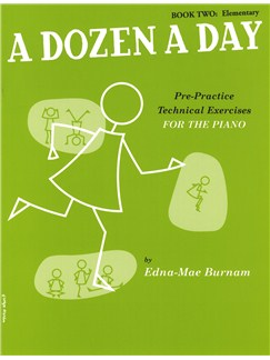 A Dozen A Day Book Two: Elementary Books | Piano