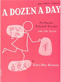 A Dozen A Day Book Three: Transitional Books | Piano