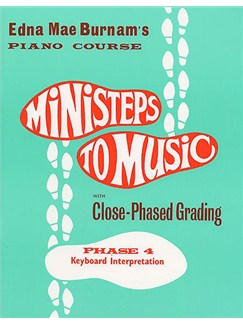 Ministeps To Music Phase Four: Keyboard Interpretation Books | Piano