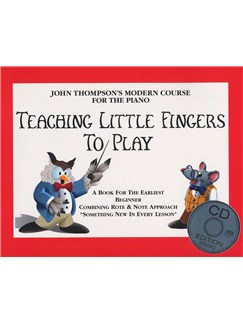John Thompson's Teaching Little Fingers To Play (Book/CD) Books and CDs | Piano