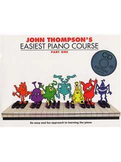 John Thompson's Easiest Piano Course: Part One (Book And CD) Books and CDs | Piano