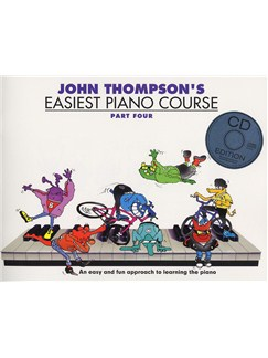 John Thompson's Easiest Piano Course: Part Four (Book And CD) Books and CDs | Piano