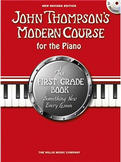 John Thompson's Modern Course First Grade - Book/CD (2012 Edition) Books and CDs | Piano