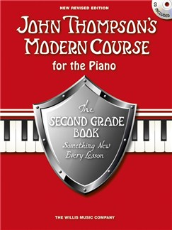 John Thompson's Modern Course Second Grade - Book/CD (2012 Edition) Books and CDs | Piano