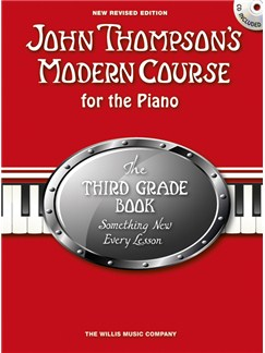John Thompson's Modern Course Third Grade - Book/CD (2012 Edition) Books and CDs | Piano