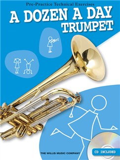 A Dozen A Day - Trumpet Books and CDs | Trumpet