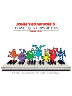John Thompson's Easiest Piano Course Part 1 (Romanian Edition) Books | Piano