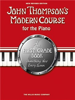 John Thompson's Modern Course First Grade - Book Only (New Edition) Books | Piano