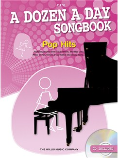 A Dozen A Day Songbook: Pop Hits - Mini Books | Piano