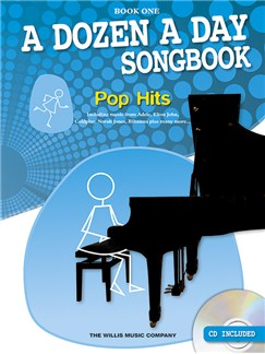A Dozen A Day Songbook: Pop Hits - Book One Books and CDs | Piano