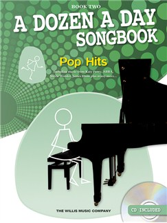 A Dozen A Day Songbook: Pop Hits (Book Two) Books and CDs | Piano