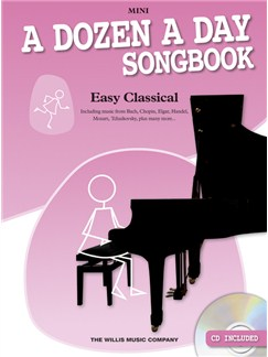 A Dozen A Day Songbook: Easy Classical - Mini Books | Piano