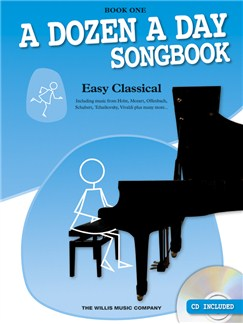 A Dozen A Day Songbook: Easy Classical - Book One Books and CDs | Piano