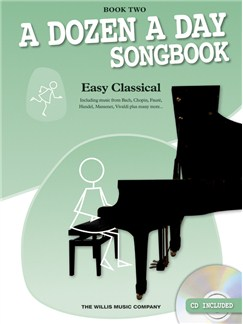 A Dozen A Day Songbook: Easy Classical - Book Two Books and CDs | Piano