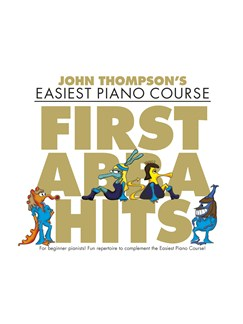 John Thompson's Easiest Piano Course: First ABBA Hits Books | Piano