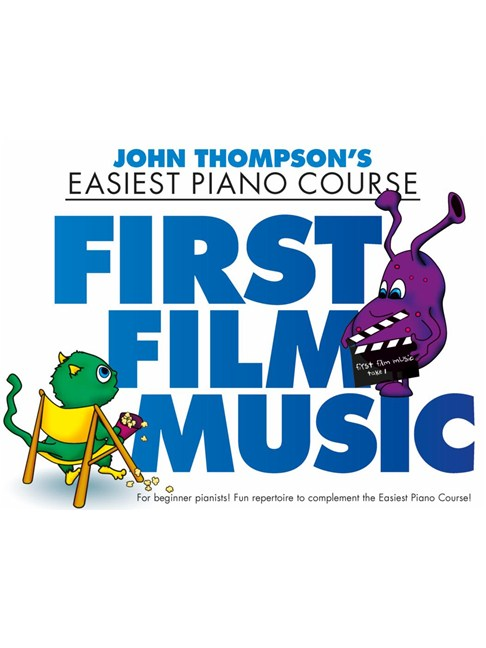 John Thompson First Film Music Piano Books Sheet Music