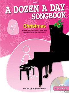 A Dozen A Day Songbook: Christmas - Mini (Book/CD) Books and CDs | Piano