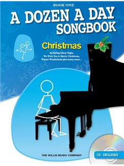 A Dozen A Day Songbook: Christmas - Book One (Book/CD) Books and CDs | Piano