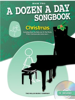 A Dozen A Day Songbook: Christmas - Book Two (Book/CD) Books and CDs | Piano