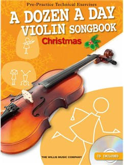 A Dozen A Day Violin Songbook: Christmas (Book/CD) Books and CDs | Violin
