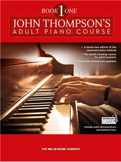 John Thompson's Adult Piano Course: Book One (Book/Audio Download) Books and Digital Audio | Piano