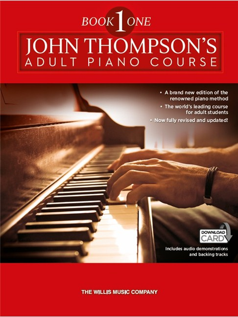 John Thompson S Adult Piano Course Book One Book Audio Download