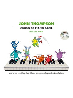 John Thompson: Curso De Piano Facil – Tercera Parte (Book/CD) Books and CDs | Piano