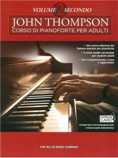 John Thompson Corso Di Pianoforte Per Adulti: Volume 2 Secondo (Libro/Download) Books and Digital Audio | Piano