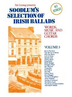 Soodlum's Selection Of Irish Ballads Volume 3 Books | Melody line & lyrics, with chord symbols